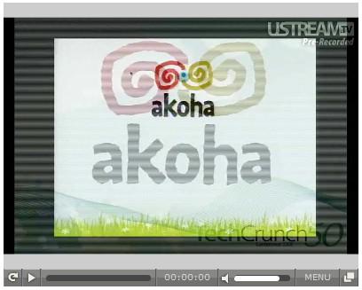 Video de présentation de Akoha
